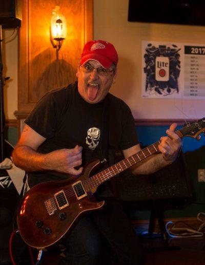 Joe T - tongue out!